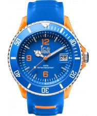 Ice-Watch SR.3H.BOE.BB.S.15 Mens Ice-Sporty Blue Silicone Strap Big Watch