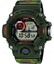 Casio GW-9400CMJ-3ER Mens G-Shock World Time Green Digital Watch