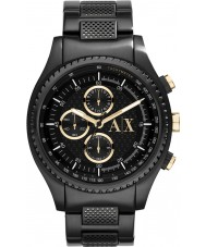 Armani Exchange AX1604 Mens Black IP Bracelet Chronograph Sports Watch