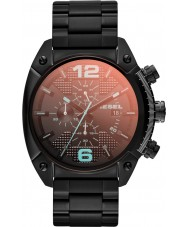 Diesel DZ4316 Mens Overflow Black IP Chronograph Watch