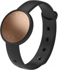 Misfit MIS2001 Shine 2 Black Rubber Watch Compatible with Android and iOS