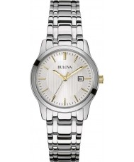 Bulova 98M121 Ladies Dress Silver Steel Bracelet Watch