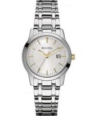 Bulova 98M121 Ladies Dress Silver Steel Bracelet Watch