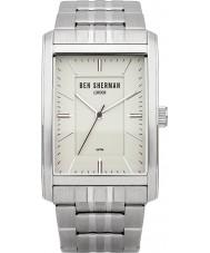 Ben Sherman WB013SM Mens White and Steel Bracelet Watch