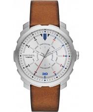 Diesel DZ1736 Mens Machinus Brown Leather Strap Watch