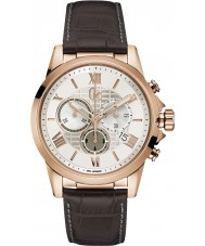 Gc Y08006G1 Mens Esquire Brown Chronograph Watch