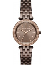 Michael Kors MK3553 Ladies Mini Darci Brown Steel Bracelet Watch
