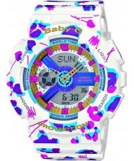 Casio BA-110FL-7AER Ladies Baby-G Multicolour Worldtime Combi Watch