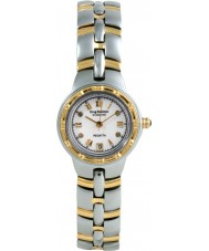 Krug Baümen 2614DL Regatta 4 Diamond White Dial Two Tone Strap
