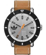 Adidas ADH2999 Amsterdam Tan Leather Strap Watch