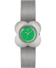 Orla Kiely OK4051 Ladies Poppy Silver Steel Bracelet Watch