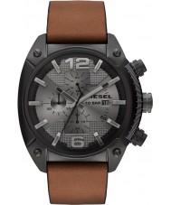 Diesel DZ4317 Mens Overflow Black IP Chronograph Watch