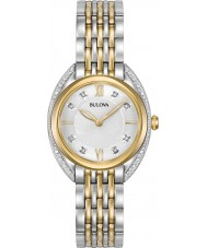 Bulova 98R229 Ladies Diamond CURV Watch