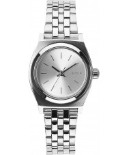 Nixon A399-1920 Ladies Small Time Teller All Silver Watch