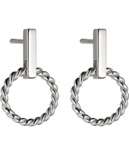 Fiorelli E5193 Ladies Textured Forms Earrings