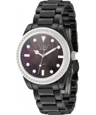 LTD Watch LTD-030623 Ladies Ceramic Black Bracelet Watch