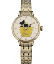 Radley Ladies Radley Link Gold Plated Bracelet Watch