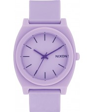 Nixon A119-2287 Time Teller Violet Rubber Strap Watch