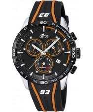 Lotus L18257-2 Mens Marc Marquez Black Rubber Chronograph Watch