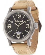 Timberland 14815JSU-02 Mens Berkshire Beige Leather Strap Watch