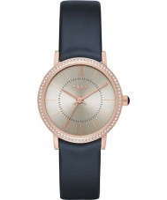DKNY NY2553 Ladies Willoughby Blue Leather Watch