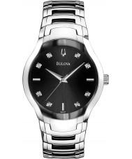 Bulova 96D117 Ladies Diamond Silver Steel Bracelet Watch