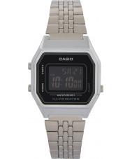 Casio LA680WEA-1BEF Collection Silver Tone Steel Bracelet watch