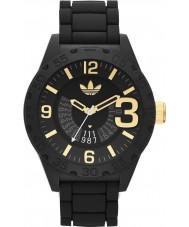 Adidas ADH3011 Mens Newburgh Black Rubber Strap Watch