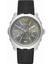 Diesel DZ1739 Mens Machinus Black Leather Strap Watch
