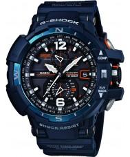 Casio GW-A1100-2AER Mens G-Shock World Time Blue Digital Watch