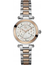 Gc Y06002L1 LadyChic Rose Gold Plated Bracelet Watch
