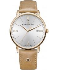 Maurice Lacroix EL1118-PVP01-111-2 Mens Eliros Tan Leather Strap Watch