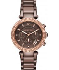 Michael Kors MK6378 Ladies Parker Brown Chronograph Watch