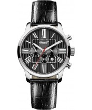 Ingersoll IN1409BK Mens Painte Automatic Black Chronograph Watch
