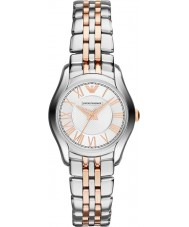 Emporio Armani AR1825 Ladies Classic Silver and Rose Gold Watch