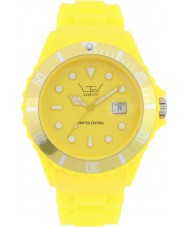 LTD Watch Limited Edition Yellow Silicone Watch