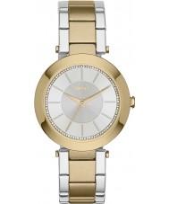 DKNY Ladies Stanhope Two Tone Steel Bracelet Watch