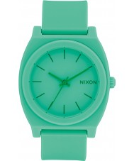 Nixon A119-2288 Time Teller Green Rubber Strap Watch