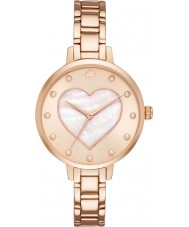 Kate Spade New York KSW1216 Ladies Metro Rose Gold Steel Bracelet Watch