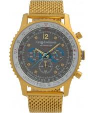 Krug-Baumen 612109DS Mens Air Traveller Diamond Watch