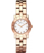 Marc Jacobs MBM3078 Ladies Amy Mini Rose Gold Watch