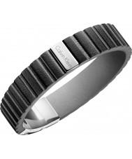 Calvin Klein KJ5SBB090100 Mens Plate Bracelet