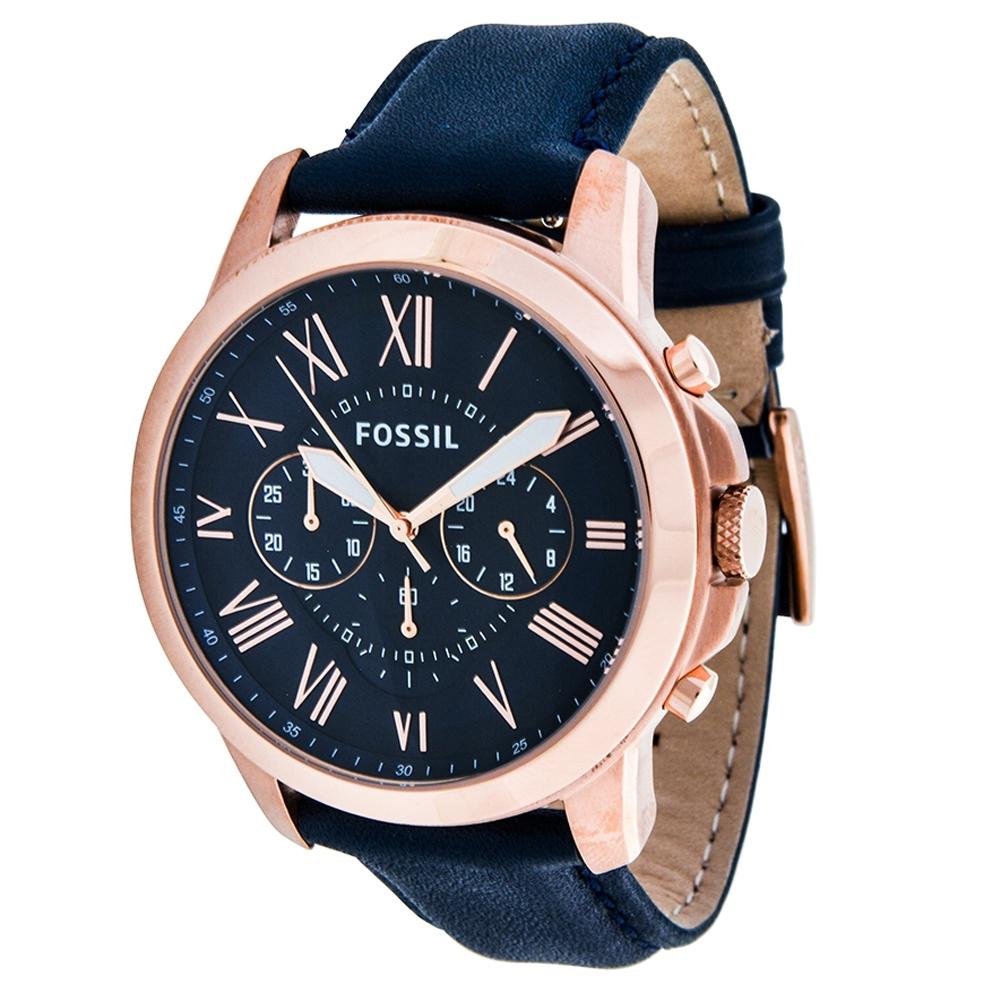17f58963c Blue Leather FS4835 Fossil Watch | Watches2U