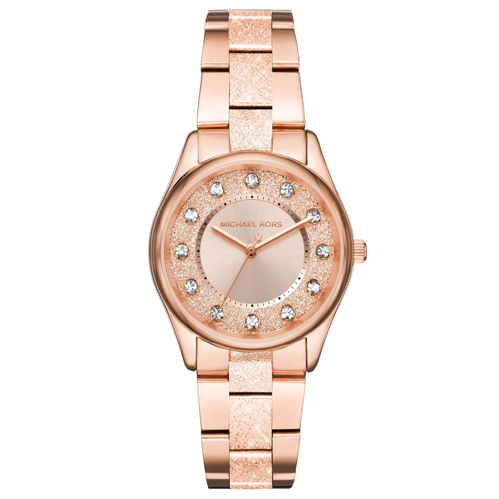 384cba8955b3 Rose Gold Metal MK6603 Michael Kors Watch
