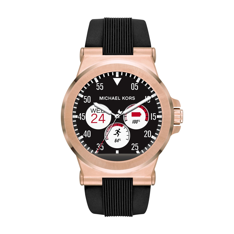 Black Mkt5010 Michael Kors Access Smartwatch Watches2u