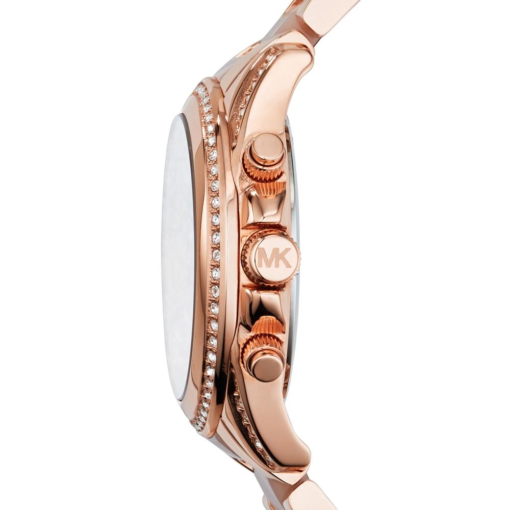 ca050ac00b1a MK5943 - Michael Kors Ladies Blair Rose Gold Plated Chronograph Watch