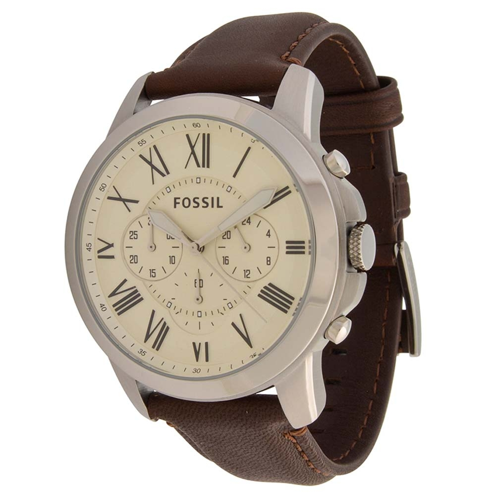 194d8e668abe Brown Leather FS4735 Fossil Watch