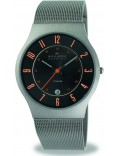 Skagen 233XLTTMO Mens Grey Gunmetal Mesh Watch