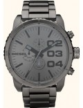 Diesel DZ4215 Mens Franchise All Gunmetal Steel Watch