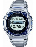 Casio W-S210HD-1AVCF Mens Tough Solar Illuminator Steel Bracelet Watch